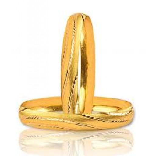 22 Ayar Altın Bilezik 10-12 Gram Başak Modeli