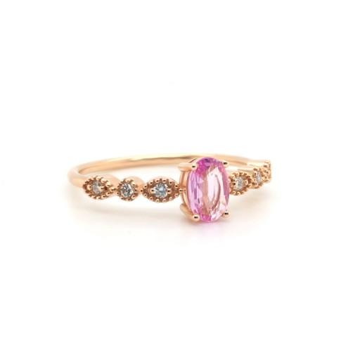 Nizamyan Özel Koleksiyonu Royal Pink Yüzük