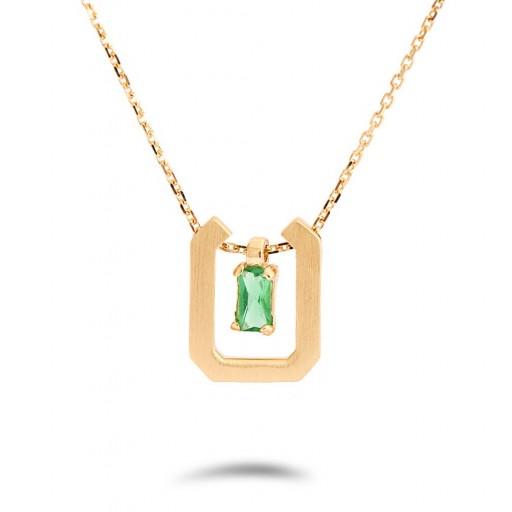 Yamachi Yeşil Altın Fantazi Kolye
