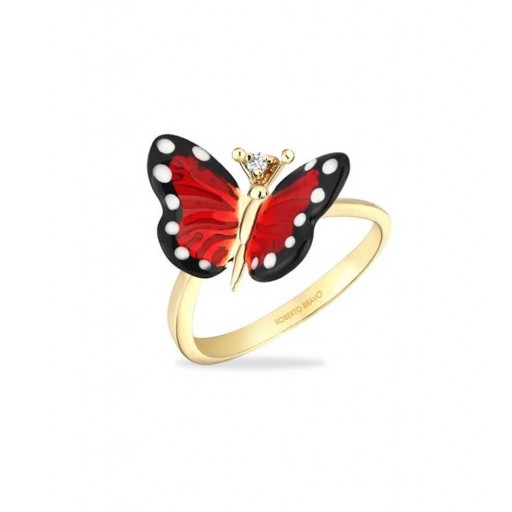 Roberto Bravo Kral Kelebek Yüzük Modeli