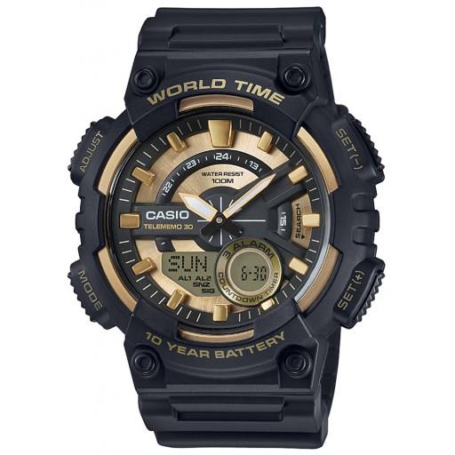 Casio Siyah World Spor Saat Modeli