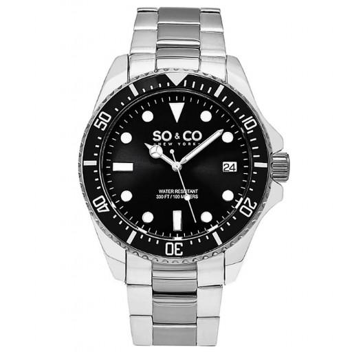 So&Co Newyork  5294.1 Çelik Kordon Erkek Saati